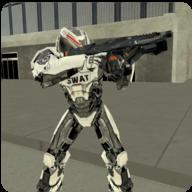 飞行机器人特警破解版/Fly Robot Swat